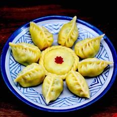 【金玉满堂】的玉米面韭菜海米饺子