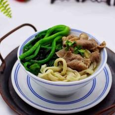 【长长远远】的菠菜羊肉卷汤面