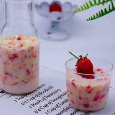 草莓苹果奶昔的做法大全