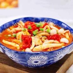 白玉菇番茄扇贝小炒的做法大全