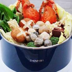 海鲜什锦时蔬火锅