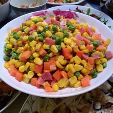 多彩玉米粒