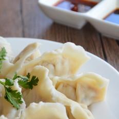 牛奶风味的鲅鱼水饺