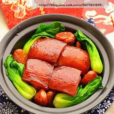 招财纳福---栗子东坡肉