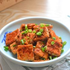 网红铁板孜然豆腐
