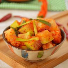 韩式腌萝卜
