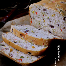 蔬菜全麦面包