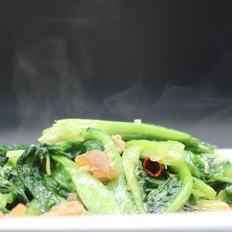 猪油渣油麦菜