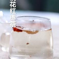 桃花红枣茶