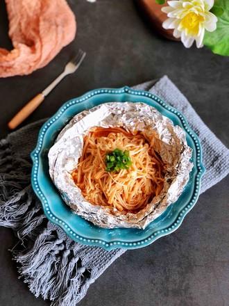 奥尔良烤金针菇的做法