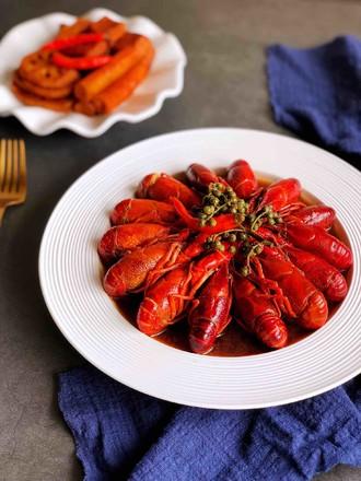 青花椒卤小龙虾的做法