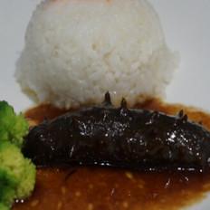 海参鲍汁捞饭