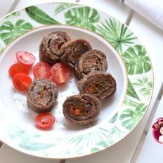 牛肉蔬菜卷