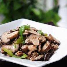 香菇炒肉片