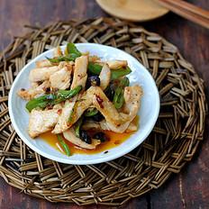 青椒炒鸡肉