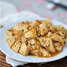 厨房小白的福利——蚝油豆腐
