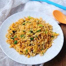黄金青菜炒饭