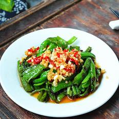 蒜米拌青椒