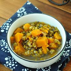 绿豆炖南瓜