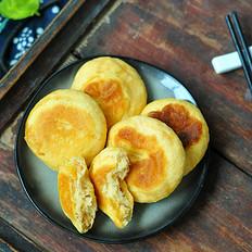 玉米发面饼