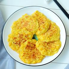 玉米汁小饼