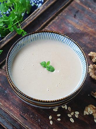 核桃燕麦豆浆的做法