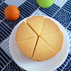6寸无油戚风蛋糕