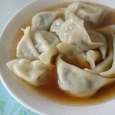 韭菜猪肉水饺