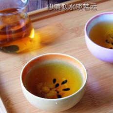 罗汉果菊花凉茶