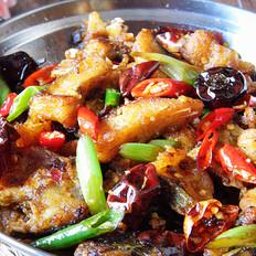 干锅香辣鱼