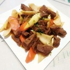 春笋炒牛肉