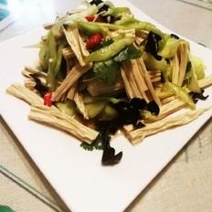 凉拌黄瓜腐竹
