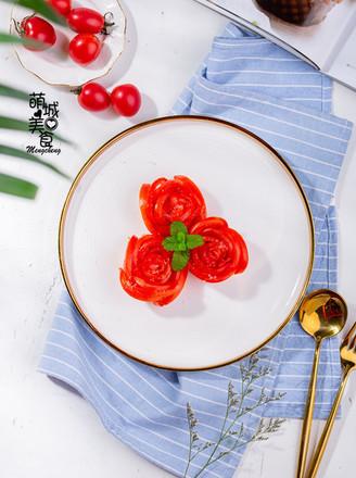 糖拌西红柿的做法