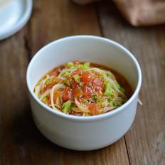 番茄西兰花面(辅食)