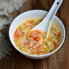 西兰花番茄牛肉粥(辅食)