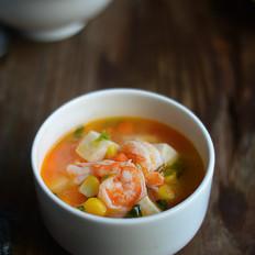 鲜虾豆腐汤(辅食)