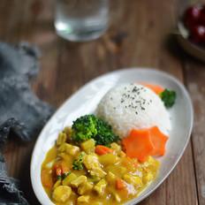 土豆咖喱鸡丁饭