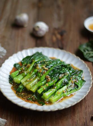 蒜蓉蚝油菜心的做法