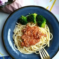 网红番茄肉酱意面