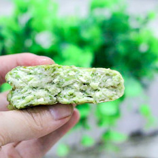 秋葵豆腐饼