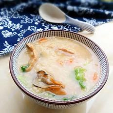 蚝豉瘦肉粥