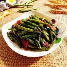 腊肉干煸四季豆