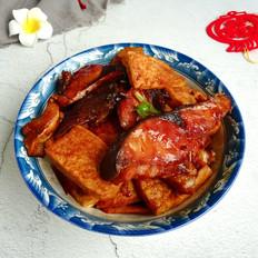 腊鱼焖豆腐