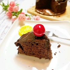 特浓醇厚巧克力蛋糕
