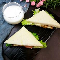 上班族三明治-没时间吃早餐的看过来