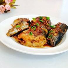 红烧鲐鲅鱼