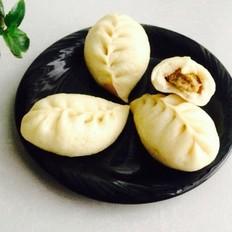 秋季豆柳叶包子