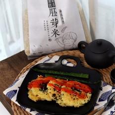 鸡蛋咸香大米煎饼