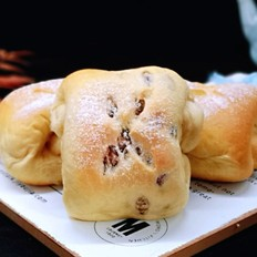日式红豆咖啡面包卷
