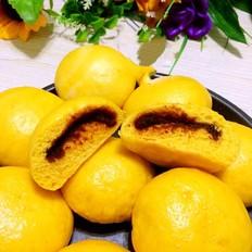 南瓜豆沙包